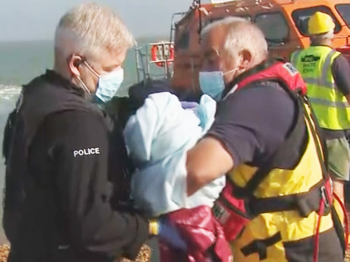 Newborn baby rescued by RNLI after nine-hour Channel crossing