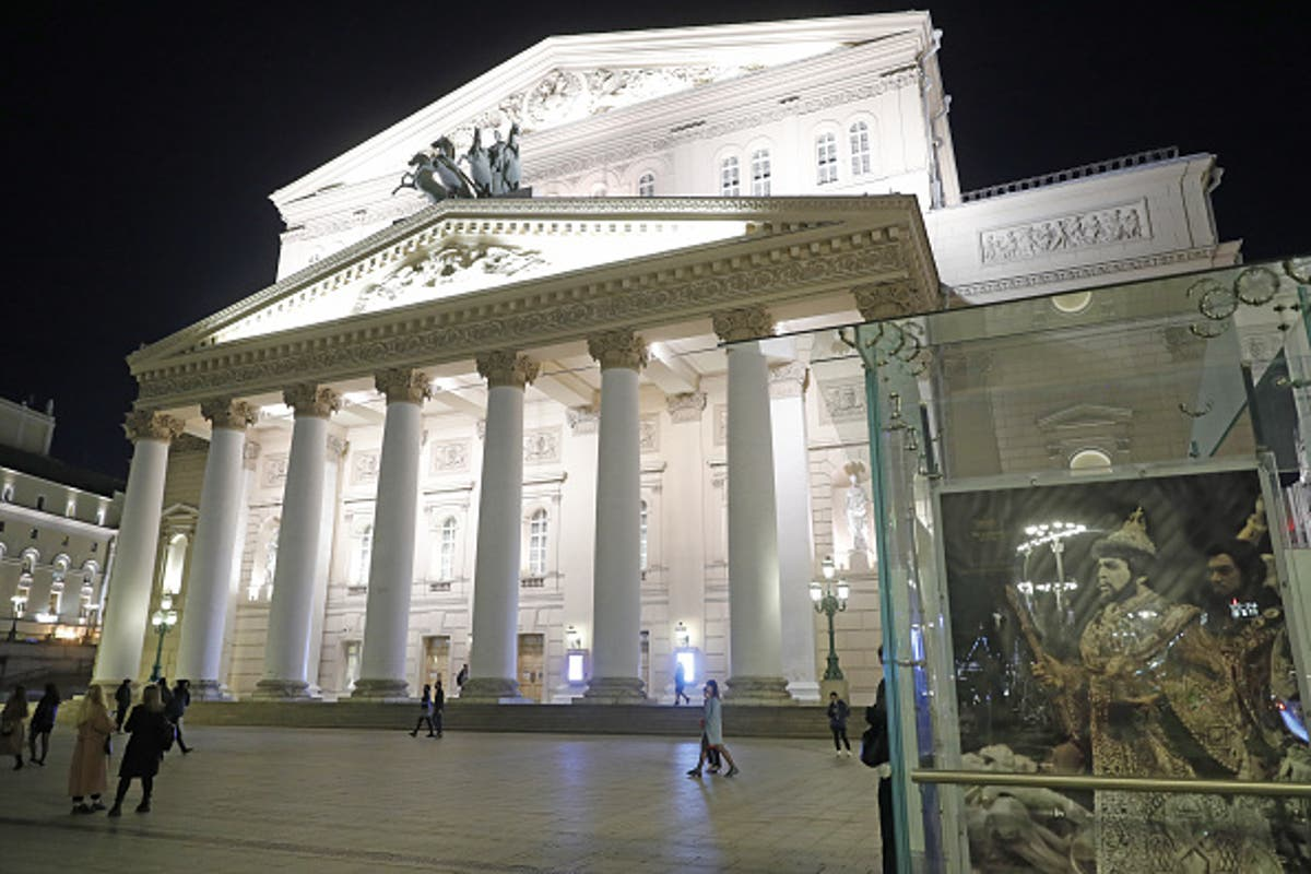 Russian actor at Moscow's Bolshoi Theatre killed by falling scenery