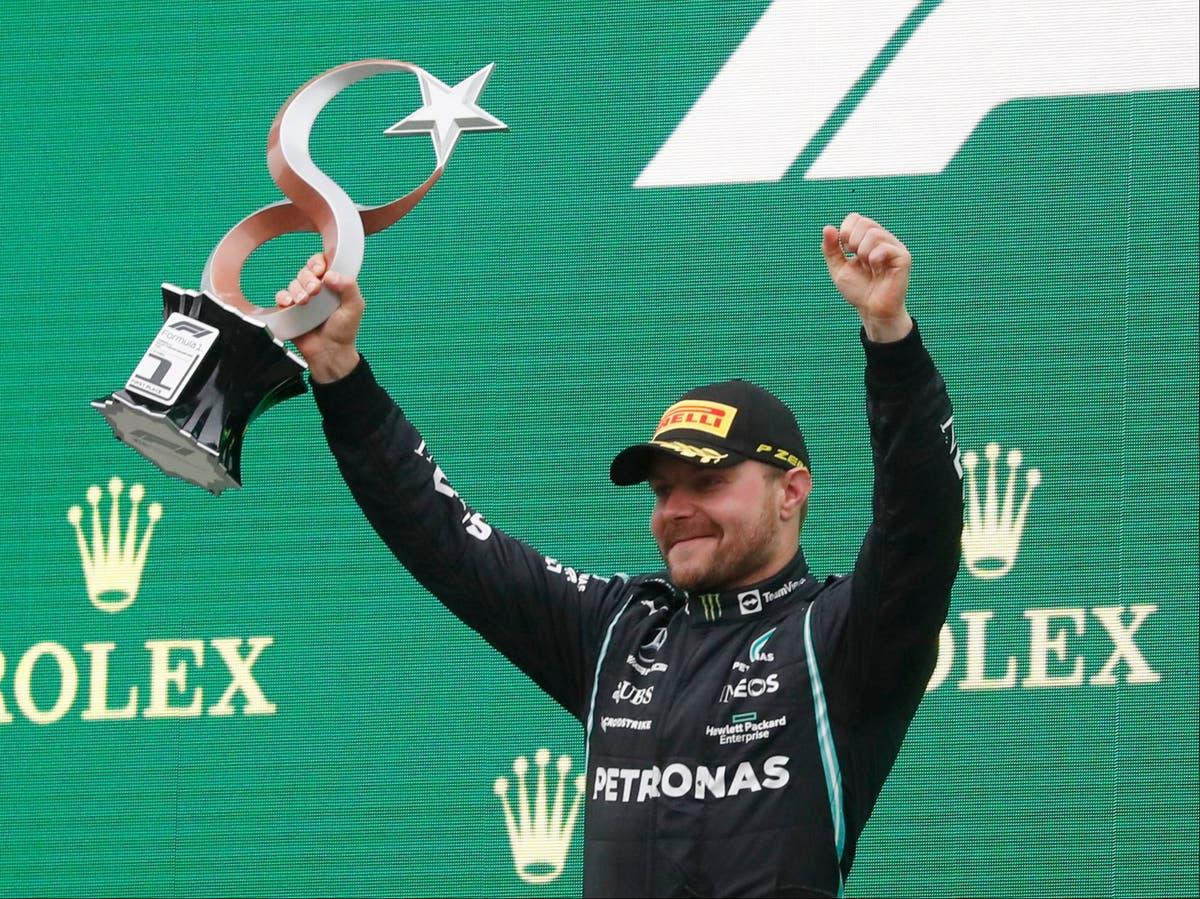 Valtteri Bottas beats furious Lewis Hamilton and Max Verstappen to win Turkish GP