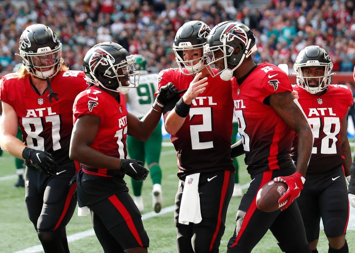 Atlanta Falcons outlast New York Jets as NFL returns to London
