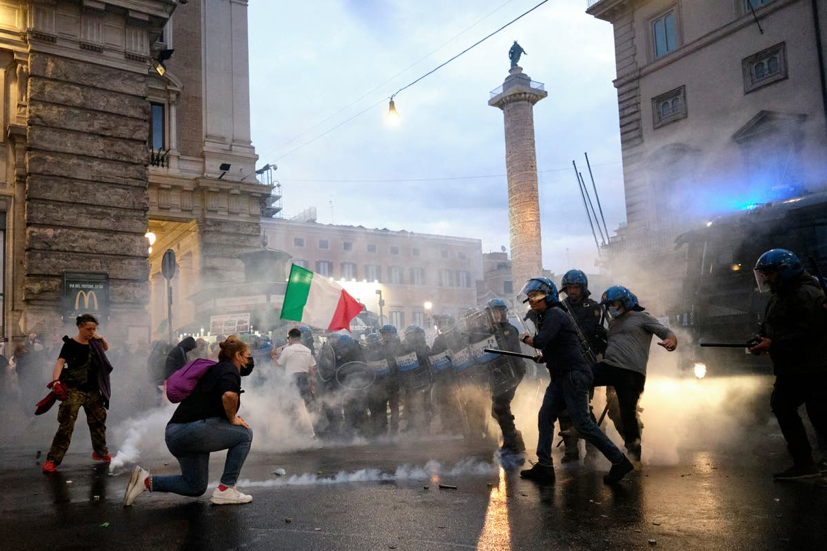 Calls rise in Italy to ban pro-fascism groups after rampage