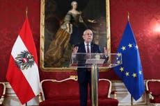 Austrian president demands that government restore trust