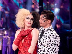 Katie McGlynn is second celebrity to be eliminated from Strictly Come Dancing