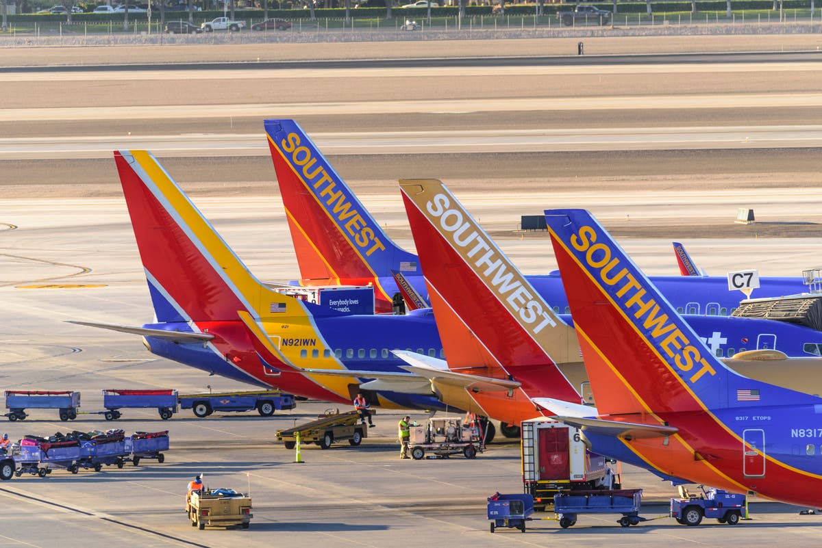 Airport chaos as hundreds more Southwest flights cancelled and delayed