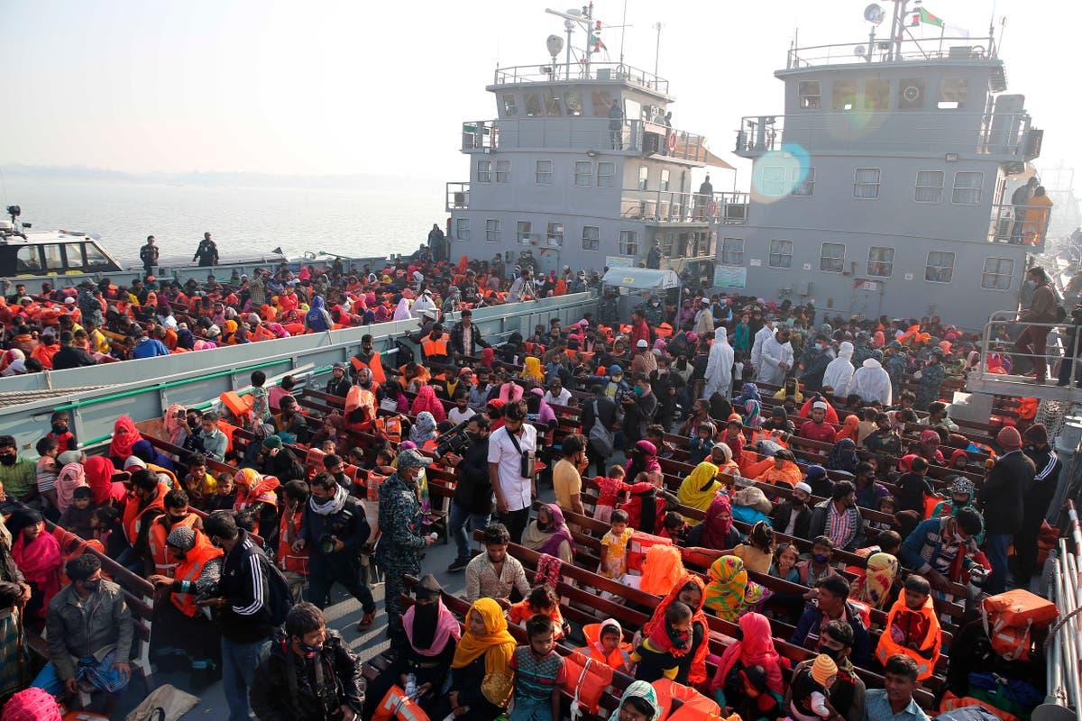 EN, Bangladesh signerer avtale for å hjelpe Rohingya flyttet til øya