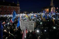 'Polexit' fears spark mass pro-EU protests across Poland