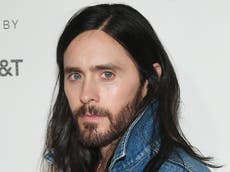Jared Leto 'tear-gassed' after being caught in Italy green pass protests