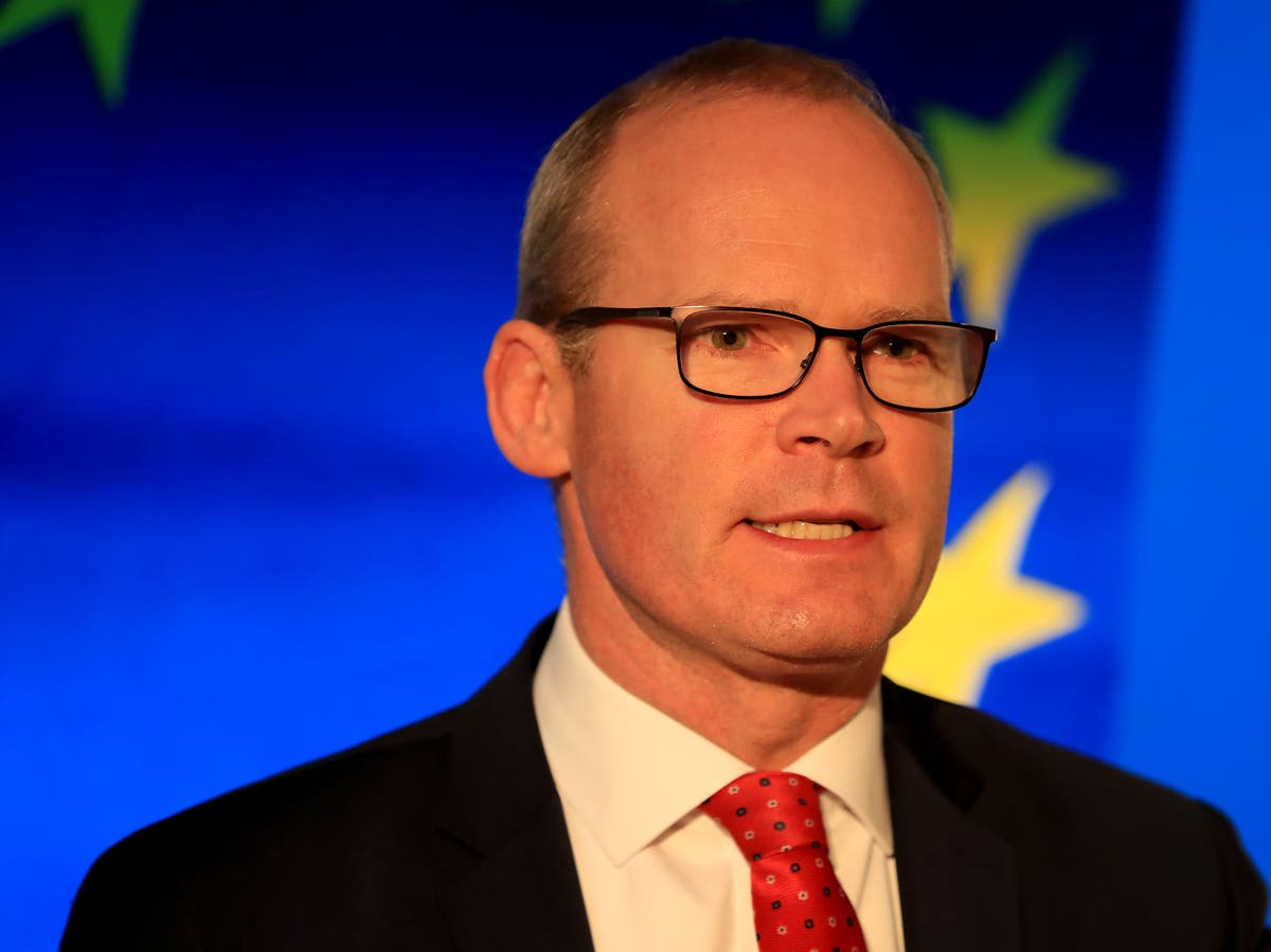 UK not interested in protocol solutions, says Irish foreign minister