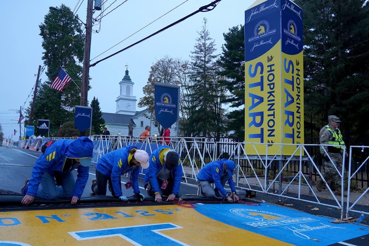 Boston Marathon set to begin after pandemic hiatus