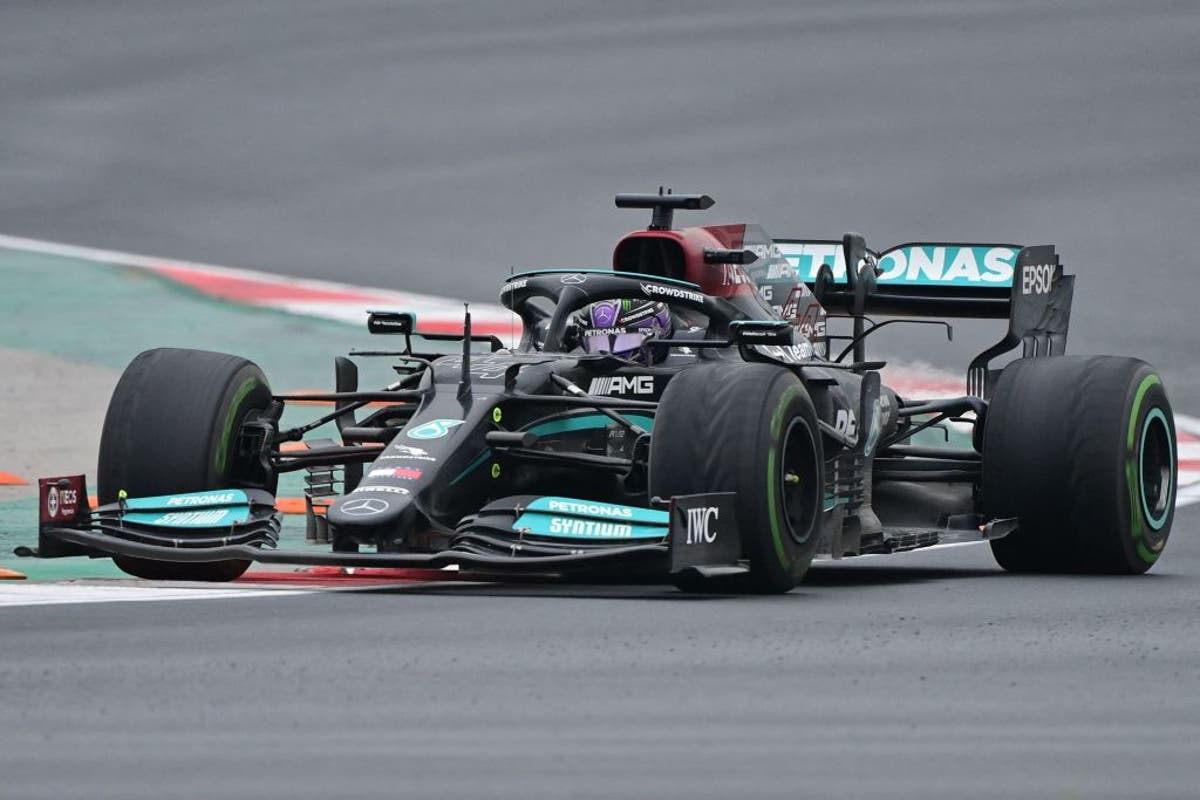 Lewis Hamilton's tyres looked 'dangerous', Red Bull chief claims