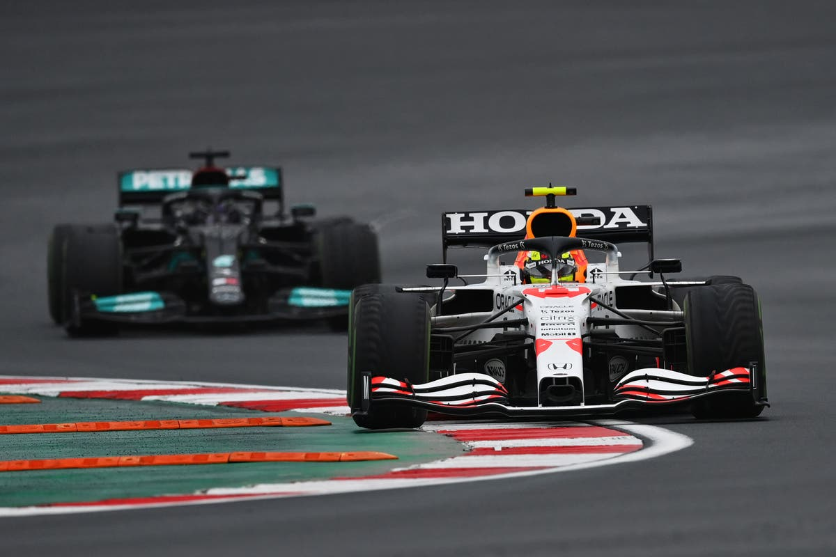 Lewis Hamilton 'wanted to send Sergio Perez into pit lane', Red Bull chief claims