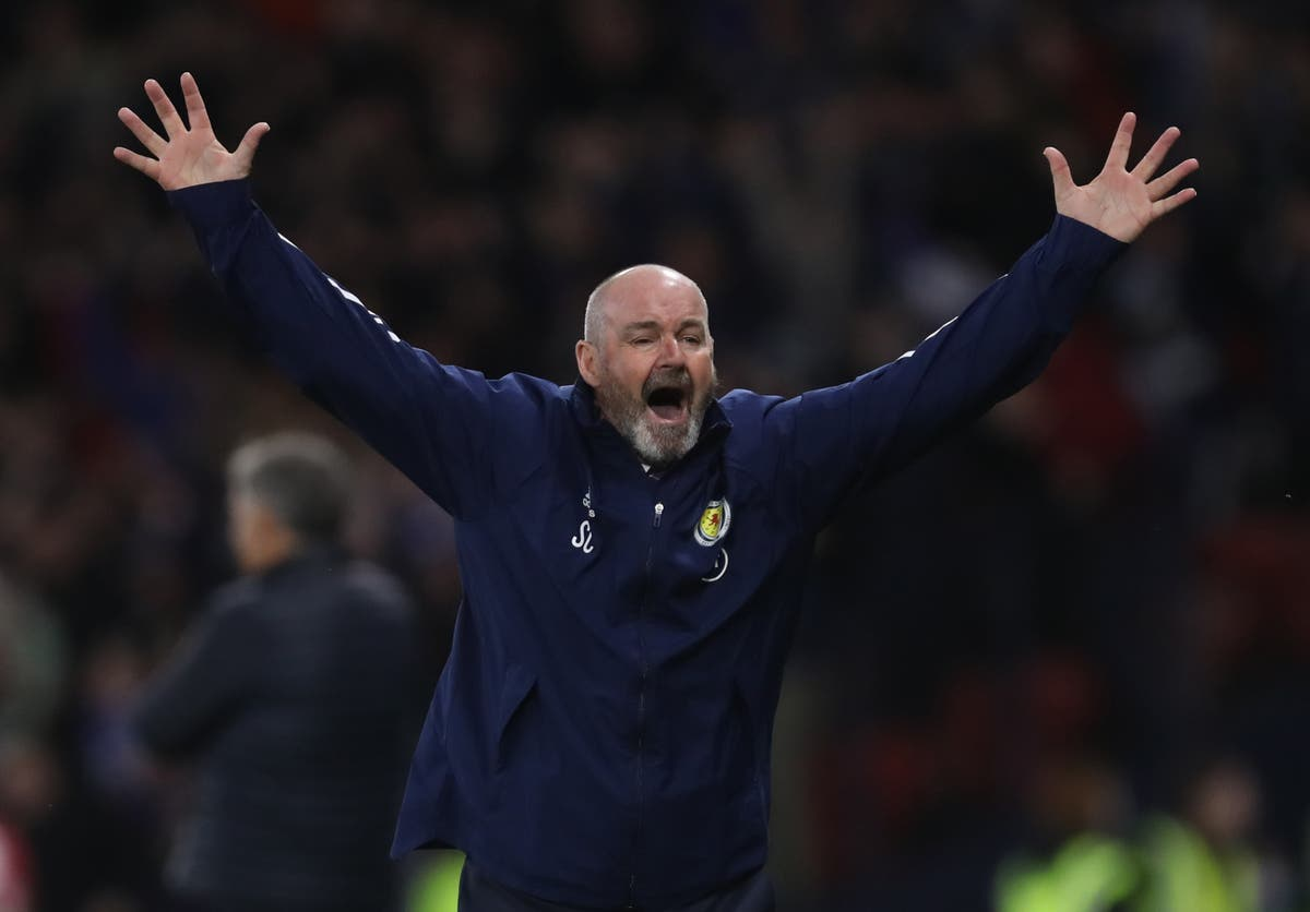Scotland 'feeling the love' of home support, Steve Clarke claims