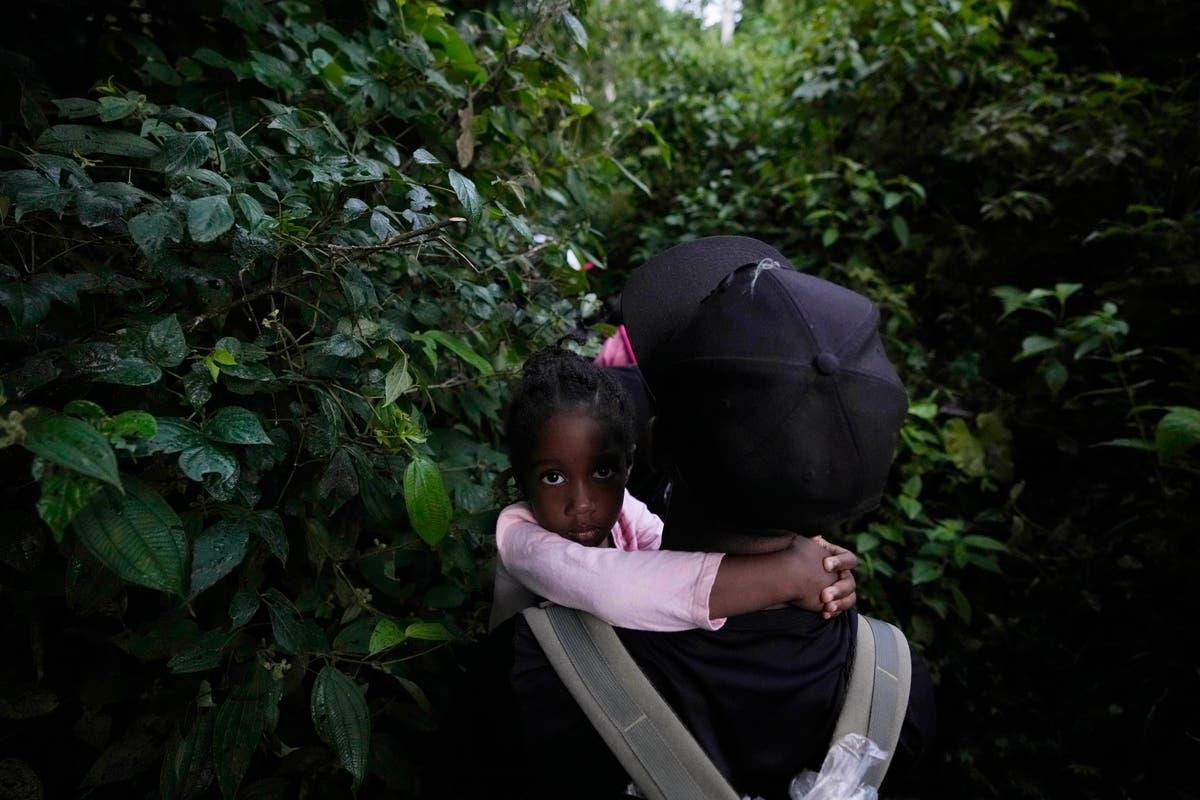 Number of children crossing Darien Gap hits record high