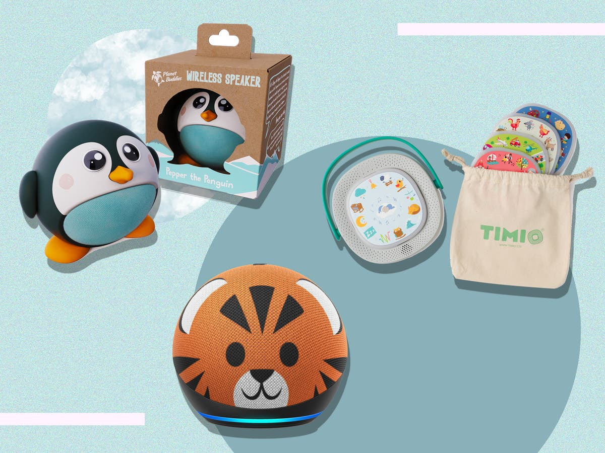 These clever audio players will help get your little one off the screen
