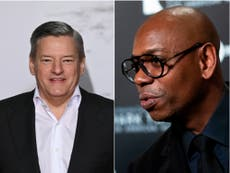 Netflix's Ted Sarandos defends Dave Chappelle after comedian says he's 'team TERF'