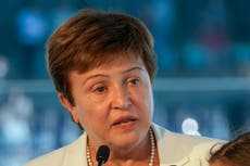IMF board approves allowing Georgieva to remain as IMF head