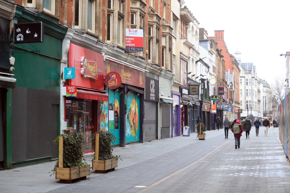 Government faces calls to cut business rates to keep Red Wall voters on side