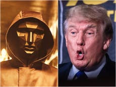 Squid Game director compares Donald Trump to villainous VIPs in Netflix series