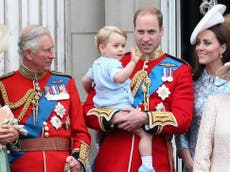 Prince Charles has created a garden dedicated to grandson Prince George