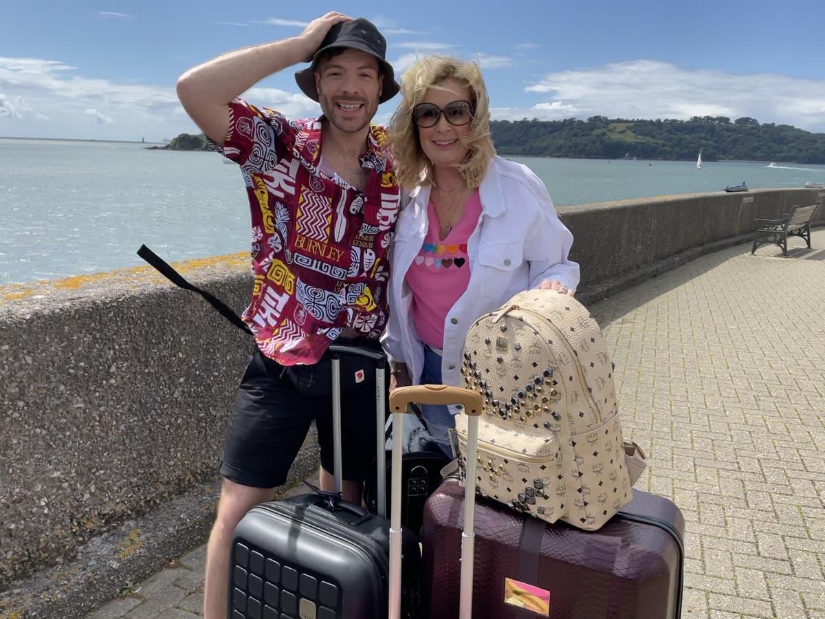 Beverley Callard and Jordan North on exploring Spain together