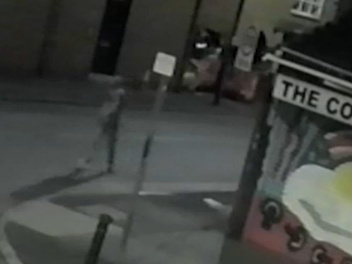 CCTV footage released in hunt for Marcus Rashford mural vandal