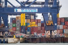 Cargo ships diverted away from UK ports due to container backlog