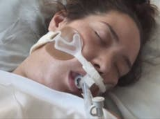 New mother dying of Covid denied lung transplant by medical insurance