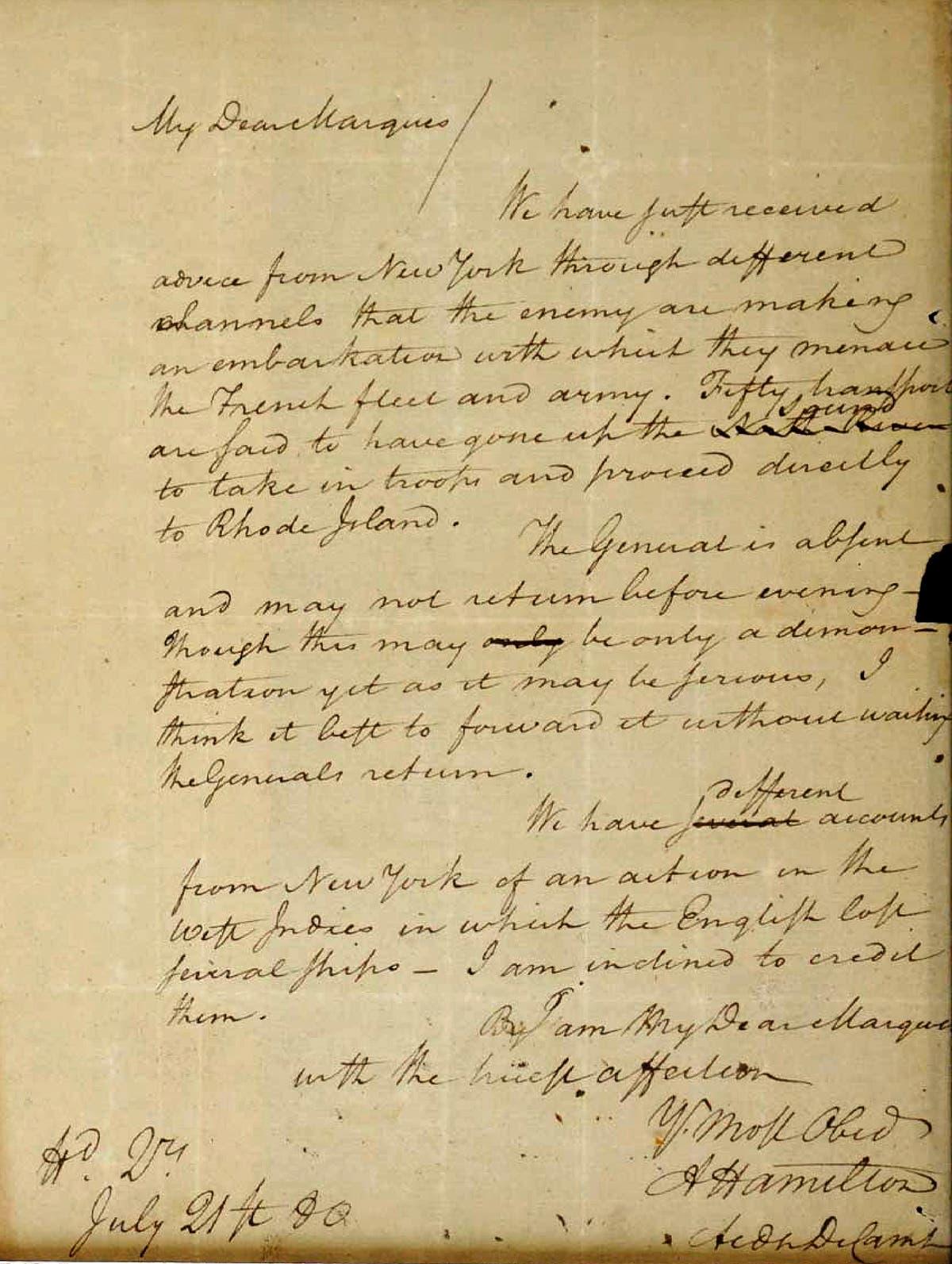 Rare stolen Alexander Hamilton letter returned after federal court fight