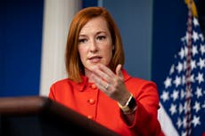 'The tragedy of the treadmill undelivered' Psaki plays down supply chain chaos