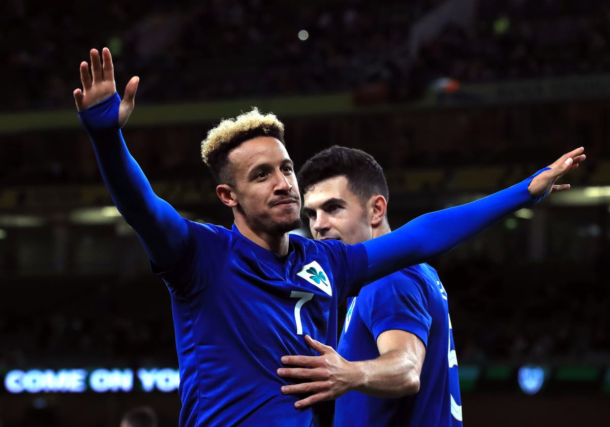 Stephen Kenny hopes Callum Robinson realises how important he can be for Ireland