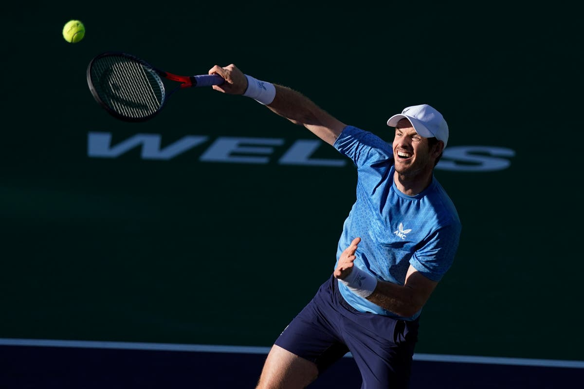 Andy Murray bows out of Indian Wells in style against Alexander Zverev