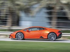 This is what happened when we tried Lamborghini's new sustainable ride