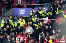 Fifa 'strongly condemns' crowd trouble at England vs Hungary