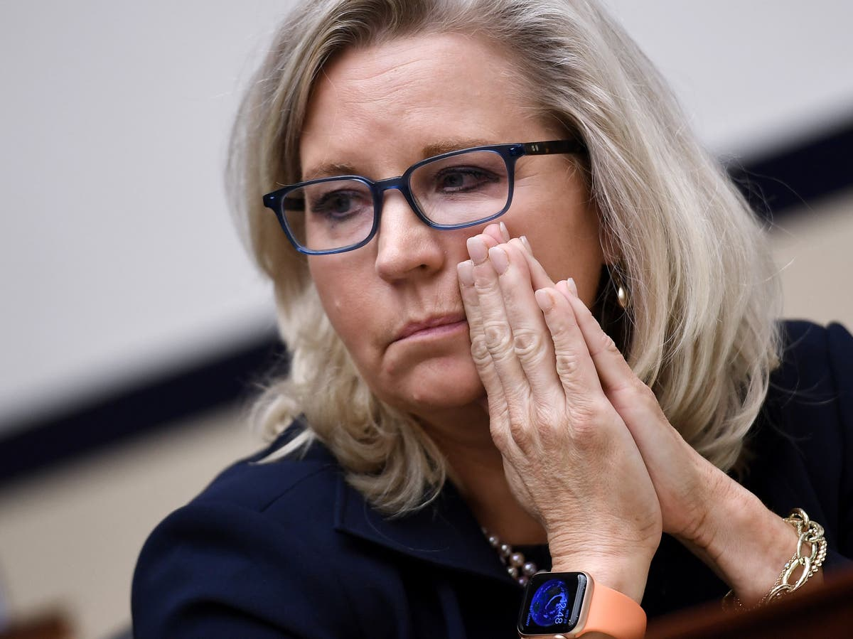 Trump flings personal insults at GOP foe Liz Cheney in book interview
