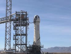 Blue Origin launches William Shatner into space – watch live
