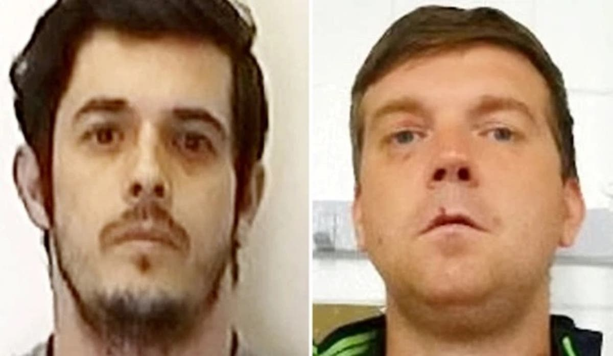 Two inmates on the run after jumping prison fence