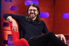 Dave Grohl on his childhood, carreira, and never wanting to live with an animal ever again