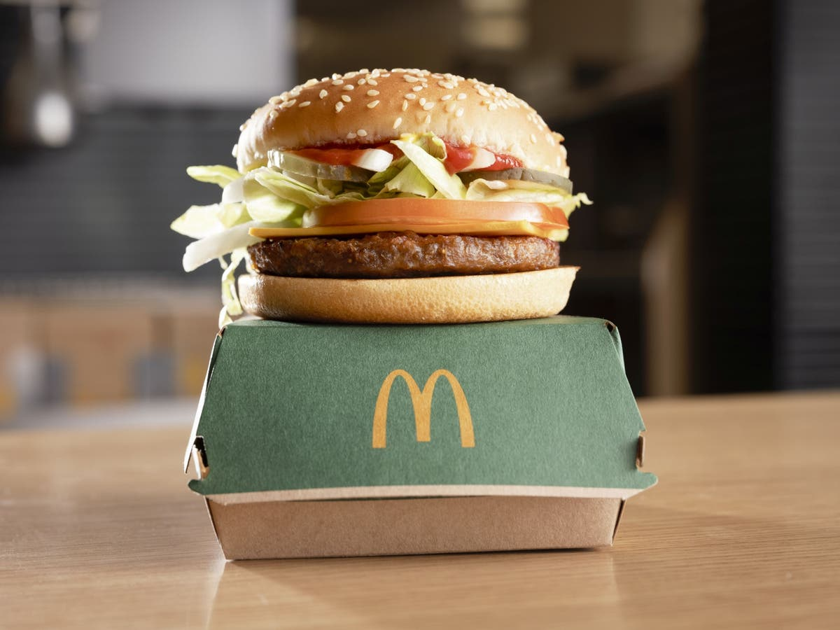 We tried the new McPlant Burger - here's our verdict