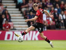 Bournemouth and Wales midfielder David Brooks diagnosed with cancer