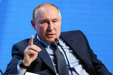 Vladimir Putin breaks silence on Nobel Peace Prize to threaten Russian winner