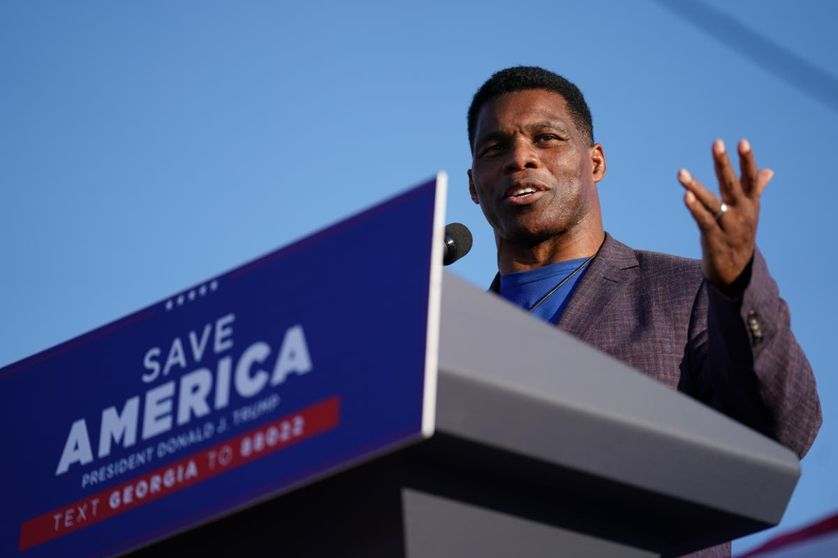 Herschel Walker cancels fundraiser with supporter who had swastika on Twitter profile