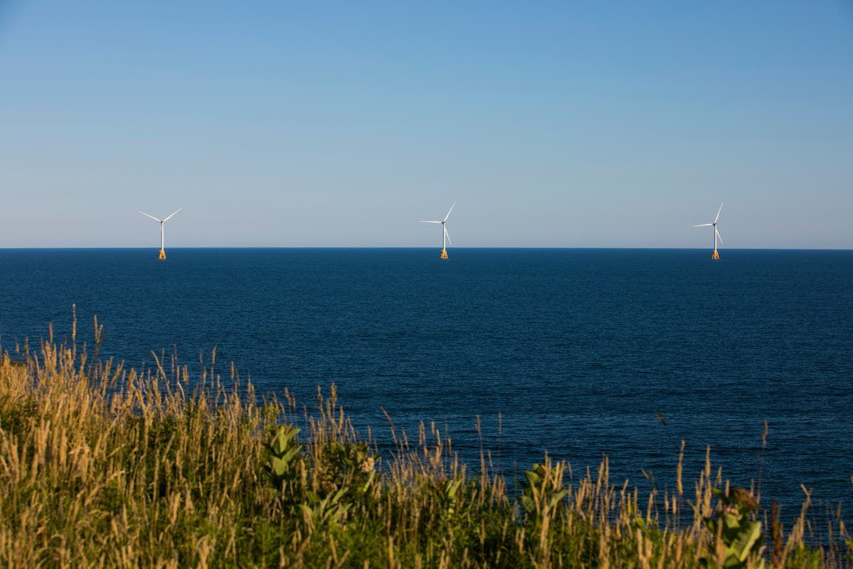 Biden announces huge expansion of wind farms along almost all of US coastline
