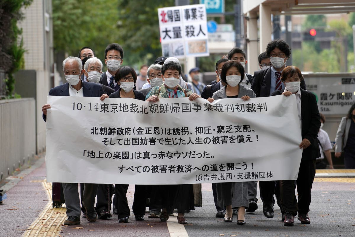 In Japanese court, 5 ask N. Korea to pay for their suffering