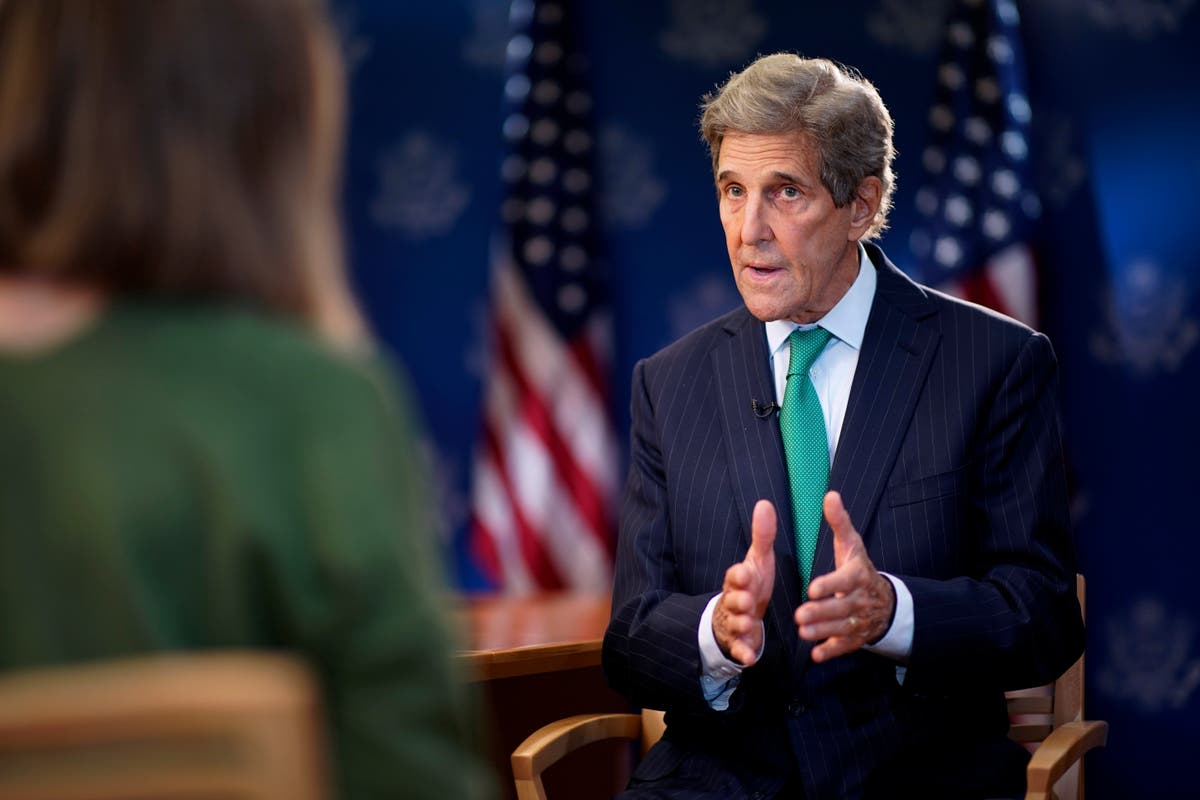 John Kerry changes optimistic tone on Cop26 and admits Glasgow may not hit target