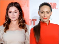 Emma Kenney claims co-star Emmy Rossum made her 'very anxious' on Shameless set