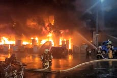 Fire engulfs Taiwan high-rise building, killing 46 and injuring dozens