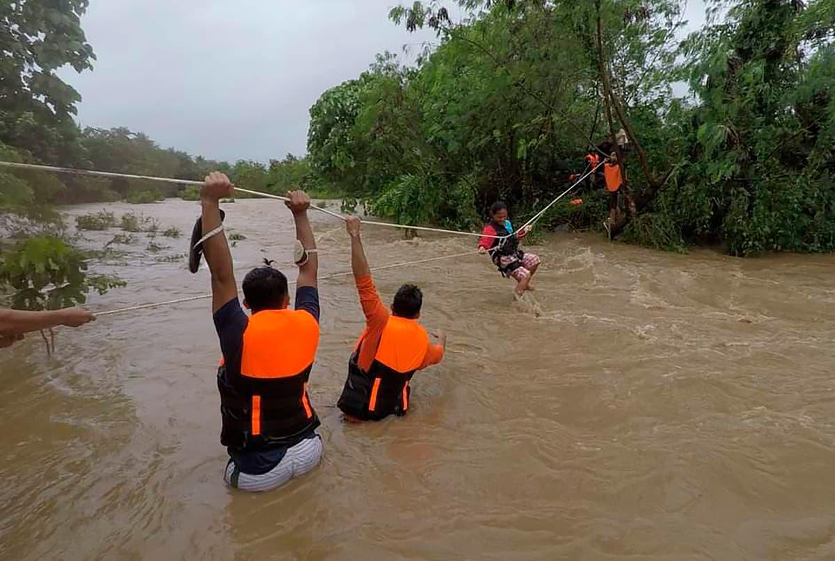 Pelo menos 19 dead in Philippines tropical storm