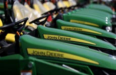 AOC joins 'striketober' support as more than 10,000 John Deere workers strike for better wages and benefits