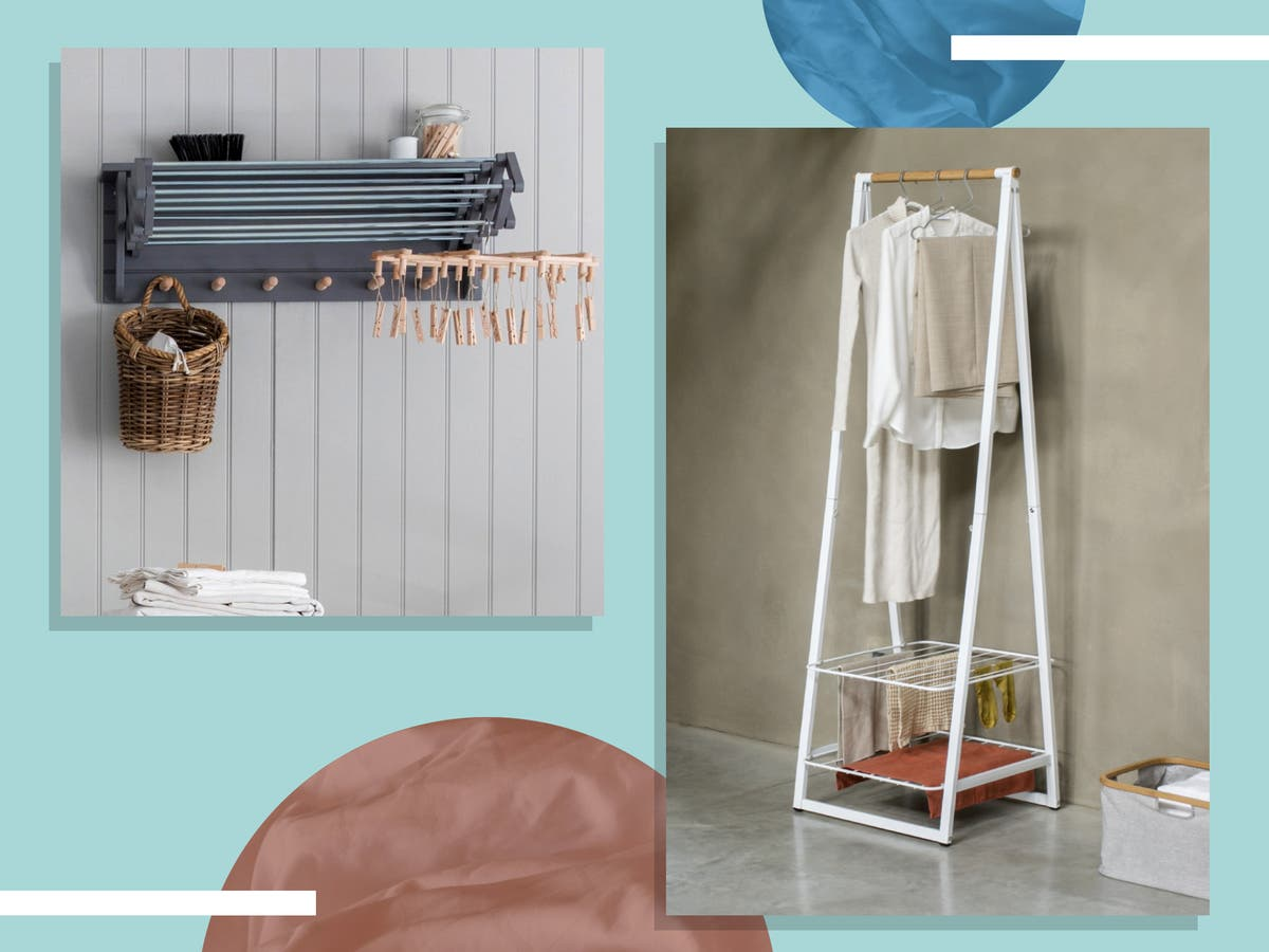 Laundry-day saviours: Lighten the load with these clothes airers and drying racks