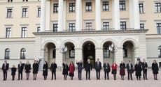 Norway's prime minister presents new government on day of tragedy